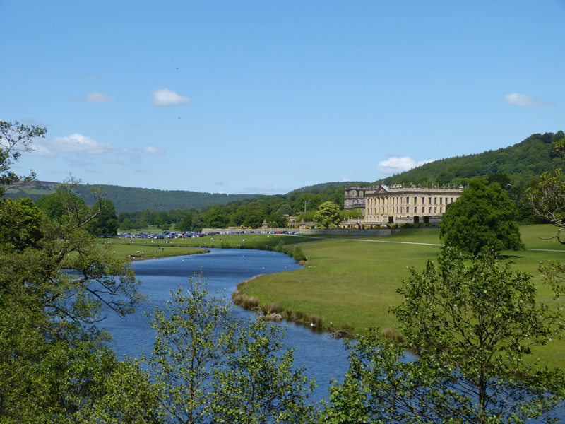 A view around Chatsworth