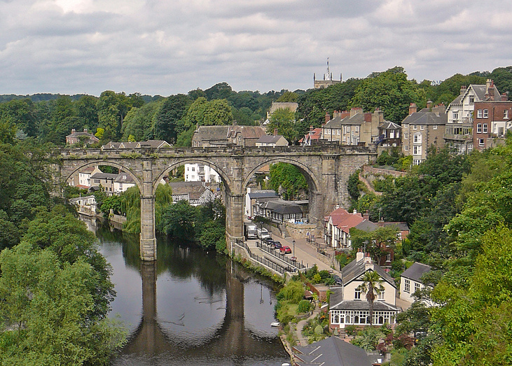 This week we`re off to Knaresborough.