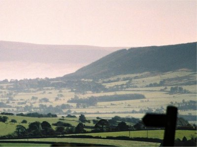 A view around Pendle Hill