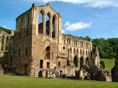A view around Rievaulx Abbey