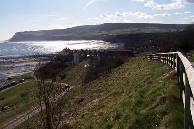 A view around Robin Hoods Bay
