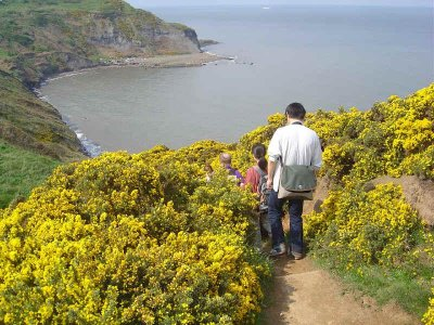 This week we`re off to Staithes.